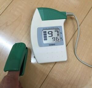 パルスオキシメーター 医療機器 リユースセンサー CASIO カシオ 血中酸素飽和度 spo2 患者 病院 モニタリング 認証 モニター 生体情報 呼吸