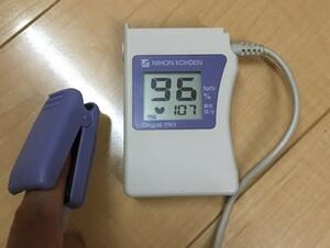 日本光電 医療機器 パルスオキシメーター リユースセンサー 取扱説明書 電池 nihonkohden 血中酸素飽和度 spo2 患者 生体 認証済 モニター