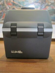保温冷ボックスに保冷機能 ウィッティ 18L witty D-18 保冷・保温庫 保冷 クーラーボックス 車載 冷蔵庫 アウトドア コンパクト保冷庫