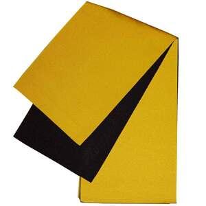 日本製 本袋 浴衣帯 リバーシブル 半幅帯 小袋帯 半巾帯 無地 ゆかた帯 黄色×黒