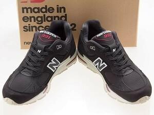 新品/NEW BALANCE/ニューバランス/M991NKR/MADE IN ENGLAND/英国製/BLACK/RED/ブラック/レッド/ワイズD/25.5cm