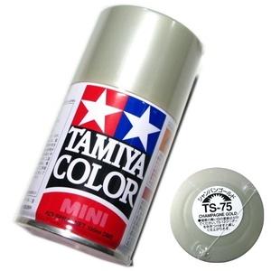 タミヤ スプレー塗料 (TS-75) シャンパンゴールド タミヤ模型 即♪≫★