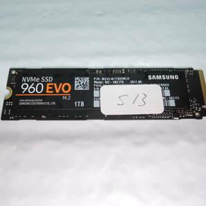 Samsung 960 EVO M.2 MZ-V6E1T0 1TB PCIe Gen3 NVMe M.2-2280 ♯s13