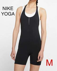 新品 NIKE ナイキ ウィメンズ Mサイズ CJ5279-010 YOGA ヨガウェア レディース フィットネス トレーニング NIKEYOGA