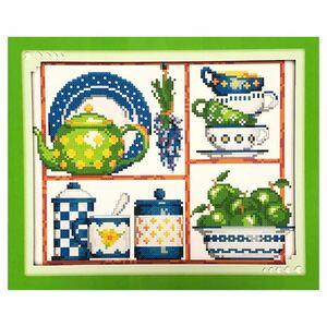 クロスステッチ刺繍キット(J308)14CT