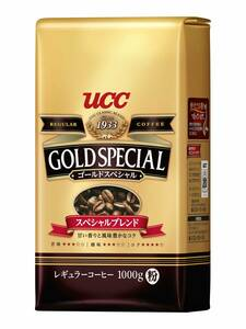 UCC ゴールドスペシャル スペシャルブレンド コーヒー豆 (粉) 1000g  k151