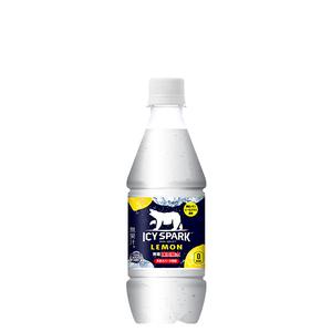 アイシー・スパーク フロム カナダドライ レモン PET 430ml 24本 (24本×1ケース) ペットボトル 炭酸水【送料無料】