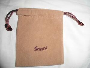 grosse アクセサリー 袋 巾着 ジュエリー ケース グロッセ