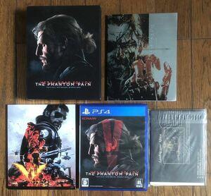 PS4 メタルギアソリッド V ファントムペイン スペシャルエディション METAL GEAR SOLID Ⅴ SPECIAL EDITION プレステ4 カセット *動作良好