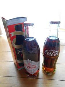 コカコーラ 記念ボトル 瓶 2本