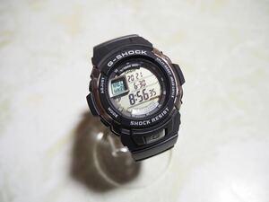 未使用 国内 CASIO カシオ G-SHOCK Gショック G-7700-1JF G-Spike Gスパイクブラック デジタル 腕時計 モータースポーツ