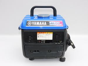 【送料無料】YAMAHA ポータブル発電機 ET600 60Hz用 出力100V/5.5A 混合ガソリン 小型 圧縮あり 中古
