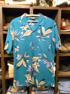 MADE IN USA HAWAII BLUES ALOHA SHIRTS SIZE L アメリカ製 ハワイ ブルース アロハ シャツ 半袖 ハワイアン