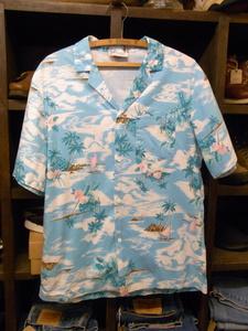 MADE IN HAWAII MALIHINI HAWAII ALOHA SHIRTS SIZE L ハワイ製 アロハ シャツ 半袖 ハワイアン