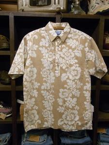 MADE IN HAWAII RJC PULLOVER ALOHA SHIRTS SIZE M? ハワイ製 プルオーバー アロハ シャツ 半袖 ハワイアン 総柄