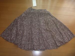定価17000円ストロベリーフィールズ紫系柄スカート新品