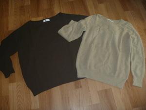 アズール黒セーター・qualiteセーター2点セット