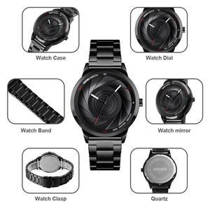 【中古品販売】【安く買えます!】メンズブランド SKMEI クォーツ高級ステンレス鋼メンズ腕時計防水時計レロジオ Masculino Zegarek Meski