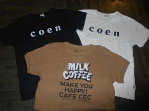 ★coen★130cmコーエンのTシャツ3枚セット used送料310円