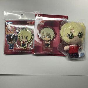 セガラッキーくじ 名探偵コナン Red Party Collection H賞、K賞、クリアしおりスタンド メアリー 3点セット