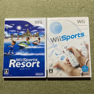 Wii Wii Sports Wiiスポーツリゾート 2本セット