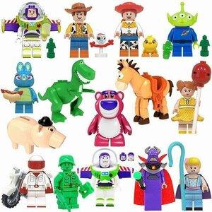 レゴブロック LEGO レゴミニフィグ トイストーリー15体セット 互換品 クリスマス プレゼント 初心者 入門モデル 誕生日 知育玩具