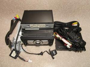 日産純正 ティーダ C11 後期 ナビ NAU-3504K モニター 地図10-11年 地デジチューナー(リモコン) バックカメラ