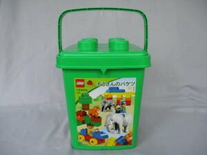 LEGO レゴ LEGO duplo レゴ デュプロ ぞうさんのバケツ(旧バージョン)7614 1才半~ 動物おまけ付