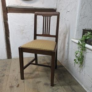 イギリス アンティーク 家具 ダイニングチェア 椅子 イス 木製 オーク 英国 DININGCHAIR 4131d