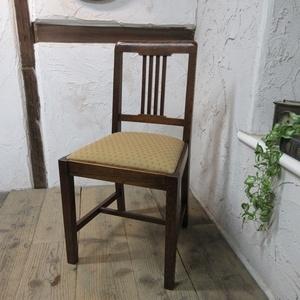 イギリス アンティーク 家具 ダイニングチェア 椅子 イス 木製 オーク 英国 DININGCHAIR 4130d