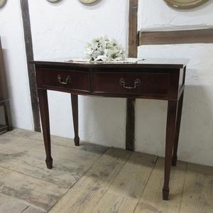 イギリス アンティーク 家具 ホールテーブル サイドボード 飾り棚 収納 木製 マホガニー 英国 SIDEBOARD 6023c