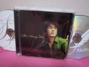 K-POP♪ SHIN SEYNG HUN シン・スンフン/日本デビューアルバム「微笑みに映った君」初回限定盤CD+DVD 日本版/ディスク良好!