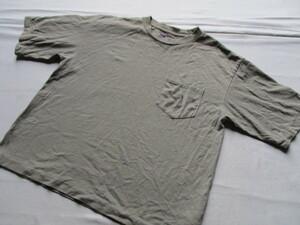 THE NORTH FACE/ザノースフェイス/半袖Tシャツ/NT3902N/ヘビーウエイトT/左胸ポケット/アウトドア/グレー/WSサイズ(7/15)