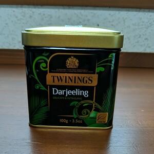 TWININGS トワイニング 缶入り ダージリン リーフティー 100g イギリス 英国 輸入品
