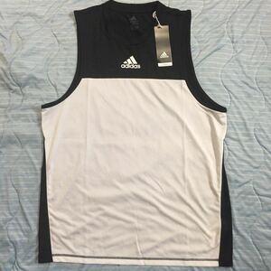 新品 adidas XOサイズ タンクトップ FL4432 ランニング マラソン ノースリーブ シャツ アディダス ジム 送料込み 送料無料