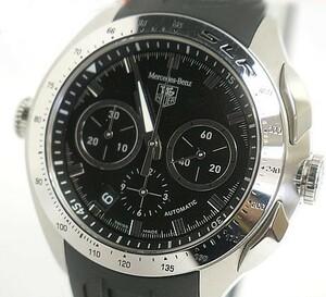 中古 美品 TAG Heuer タグホイヤー SLR クロノグラフ メルセデス ベンツ メンズ 腕時計 自動巻 CAG2110