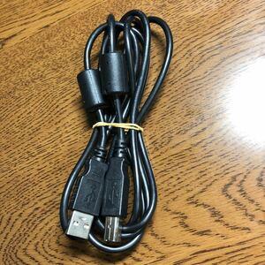 USB2.0ケーブル 1.7m (タイプAオス - タイプBオス)