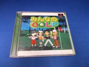 みんなのゴルフ/プレイステーション用ゲームソフト/ソニー/中古ゲーム