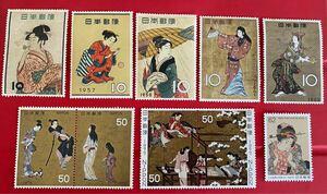切手趣味週間 浮世絵切手