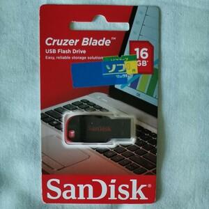 未使用品 SanDisk フラッシュメモリ 16G