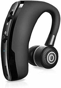 黑 【2020最新版】Bluetooth ヘッドセット ワイヤレス イヤホン Bluetooth イヤホン 片耳 車用V4.1
