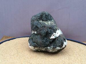 水石 自然石 天然石 ウブ石 盆石 鑑賞石 探石 庭石 盆栽 レイアウト アクアリウム 水槽 s329
