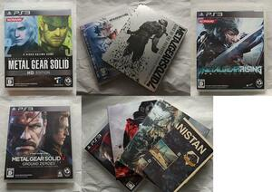 PS3用 メタルギアソリッドシリーズ5本セット 起動確認済