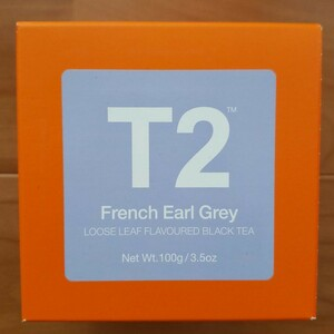 【新品】 T2紅茶 ティーツー T2 tea フレンチアールグレイ 茶葉 アールグレー マリアージュフレールフォション ハロッズ