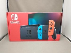 【ニンテンドースイッチ】 Nintendo Switch Joy-Con(L) ネオンブルー/(R) ネオンレッド(HADSKABAA)(バッテリー拡張モデル)