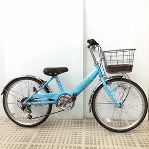 EL01 ◎ Siimoto 20 Inch Auto Light 6 Stage Gear Bicycle (121) Lighty A21AB35487 Direct Take-up Receipt Issued Unused Products ◎
