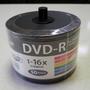 DVD-R 16倍速対応 50枚入り