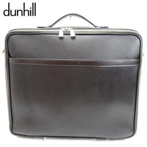 【ラスト1点】 ダンヒル ビジネスバッグ ブリーフケース dunhill 中古 T10089