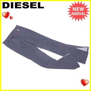 【ラスト1点】 ディーゼル ジーンズ 裾スリット入り ♯26サイズ ブーツカット デニム DIESEL 中古 P656