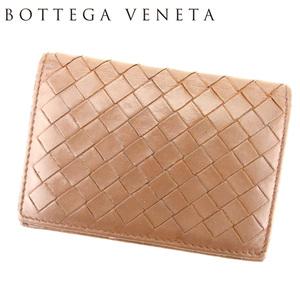 【ラスト1点】 ボッテガ ヴェネタ カードケース 名刺入れ イントレチャート BOTTEGA VENETA 中古 T7194
